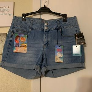Wax jeans butt lift shorts